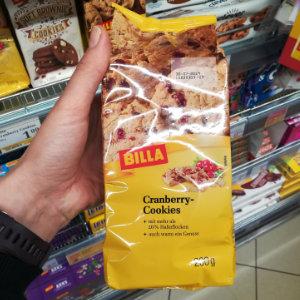 Cranberry Cookies von Billa