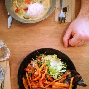 Ginko Greenhouse Graz Thai Curry und Greenhouse Bowl