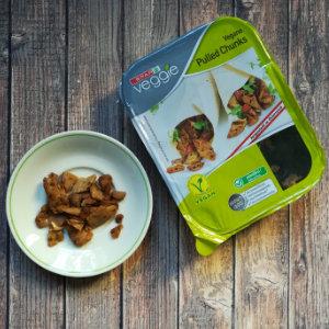Vegane Pulled Chunks von Spar Veggie