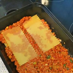 Vegane Lasagne Zubereitung