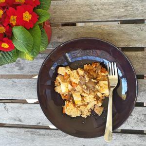veganes Reisgericht nach Reisfleischart